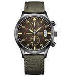 Jedir Herren-Chronographen mit Quarz-Uhrwerk für 18,99€ – Prime Versand