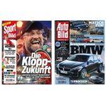 Gratis Jahresabos für AutoBILD und SportBILD – mit Stornogefahr