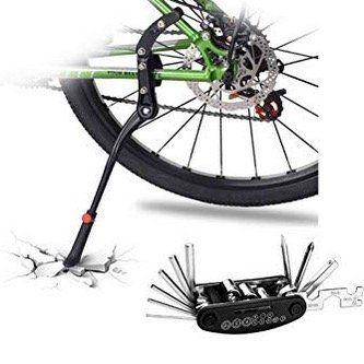 Doben Fahrradständer (einstellbar mit Gummi Fuß) mit Montagewerkzeug für 14,99€ (statt 25€)