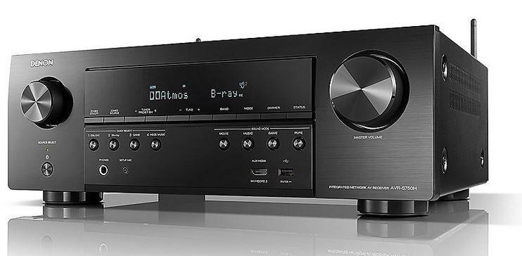 Denon AVR S750H 7.2 AV 3D Receiver (Alexa komp.) für 404,99€ (statt 538€)