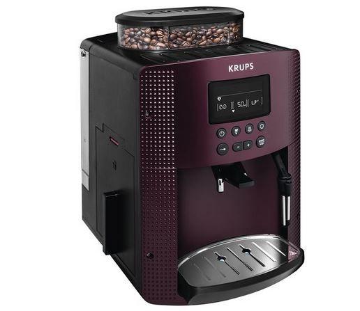 Krups 815 G Kaffeevollautomat bordeauxrot ab 229€ (statt 299€)
