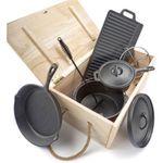 Ausverkauft! Dutch Oven Set El Fuego AY 466 7-teilig für 46,99€ (statt 55€)