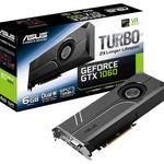 ASUS GeForce GTX 1060 Turbo 6GB NVIDIA Grafikkarte für 164,99€ (statt 223€)