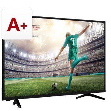 Hisense 43 FullHD Fernseher H43AE5500 mit Triple Tuner und SmartTV Funktion für 199€ (statt 284€)