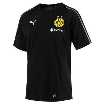 Borussia Dortmund Herren Trainings Jersey in Schwarz für 17,90€ (statt 26€)