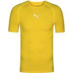 PUMA Herren Kompressions-Funktionsshirt in Gelb für 8,39€ (statt 18€)