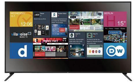 JTC GALAXIS 7.5 UHD 75 Zoll Smart TV für nur 728,95€ (!)