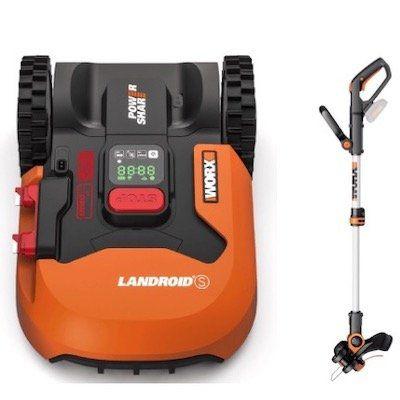 Mähroboter Worx Landroid S300 + WORX Akku Rasentrimmer für 544€ (statt 603€)