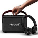 Marshall-Bundle: Killburn II Bluetooth Lautsprecher + Major III Kopfhörer ab 259€ (statt 351€)
