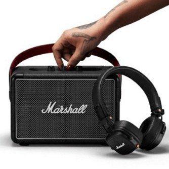 Marshall Bundle: Killburn II Bluetooth Lautsprecher + Major III Kopfhörer ab 259€ (statt 351€)