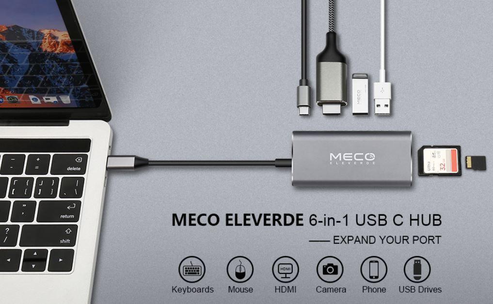 Meco Eleverde mobiler USB 3 Schnittstellenadapter für 13,99€ (statt 27€)