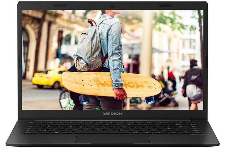 MEDION AKOYA E4251   14 Zoll FHD Notebook mit 4GB RAM und 64GB für 188€ (statt 280€)