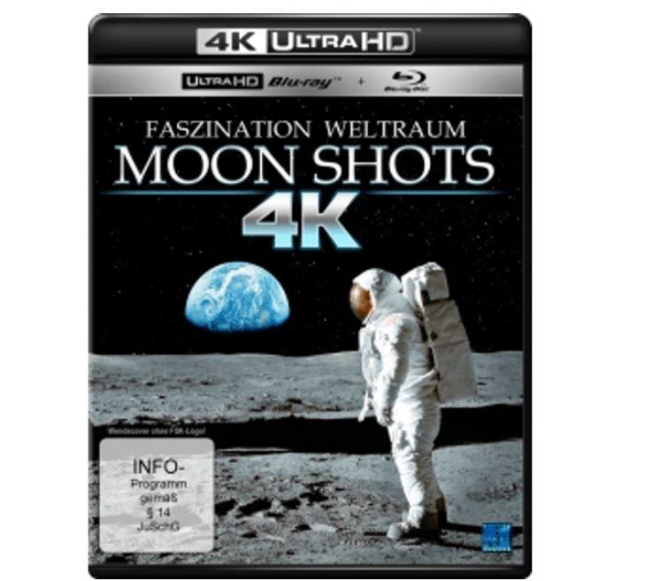Moon Shots 4K Doku (4K Ultra HD Blu ray + Blu ray) für 5€ (statt 23€)