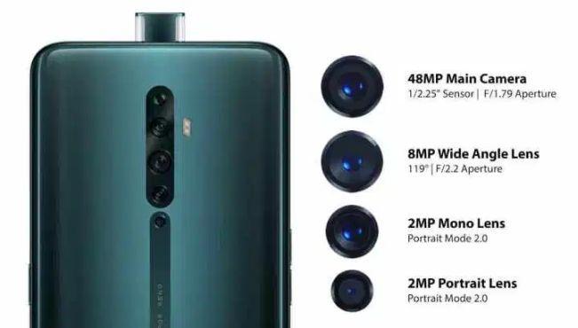 Oppo Reno 2, Reno 2Z und Reno 2F offiziell vorgestellt: Quad Kameras, 5 facher Hybrid Zoom und vieles mehr