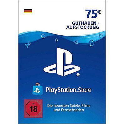 75€ Sony PSN Guthaben für 62,99€