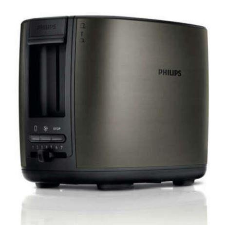 PHILIPS HD2628/80 Zweischlitztoaster 950 W für 29,99€ (statt 42€)
