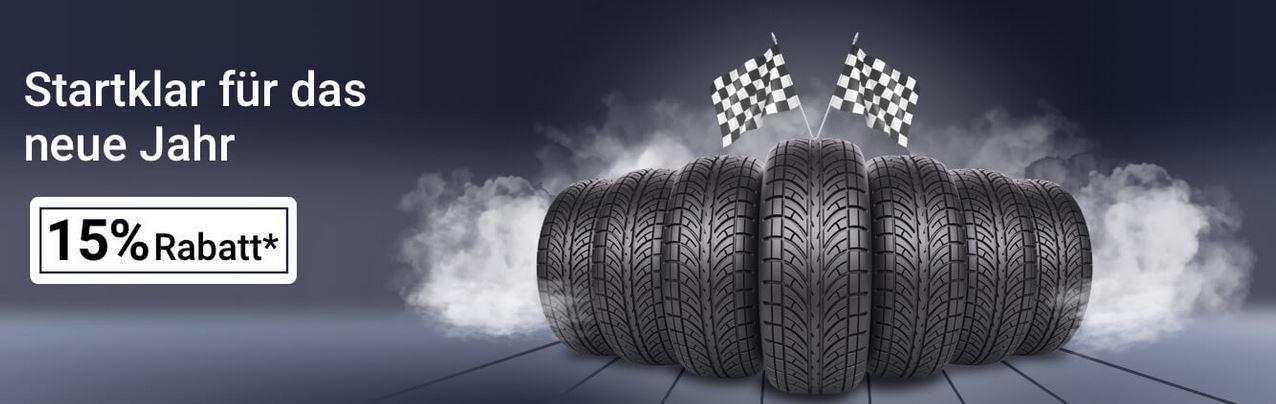 15% auf Reifen ausgewählter Händler   z.B. Goodyear Eagle F1 für 141€ (statt 176€)