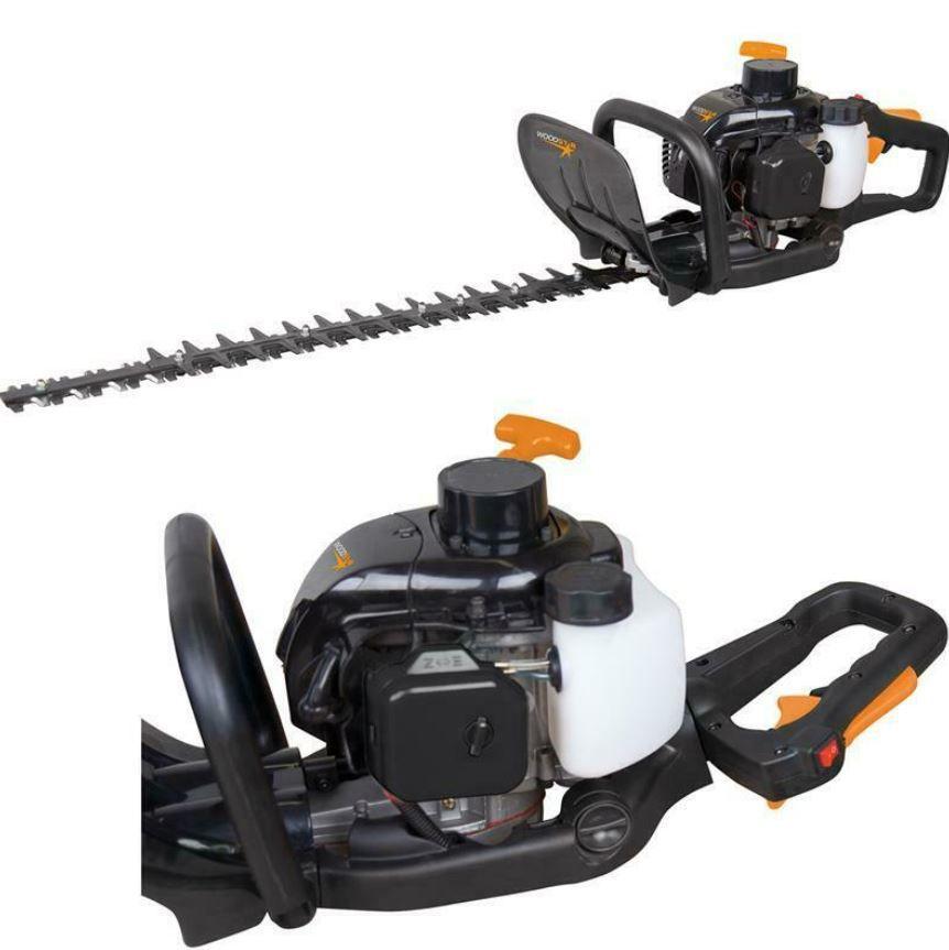 Scheppach Woodstar black HTW 25/24P Benzin Heckenschere 60 cm Schwert für 84,95€ (statt 129€)