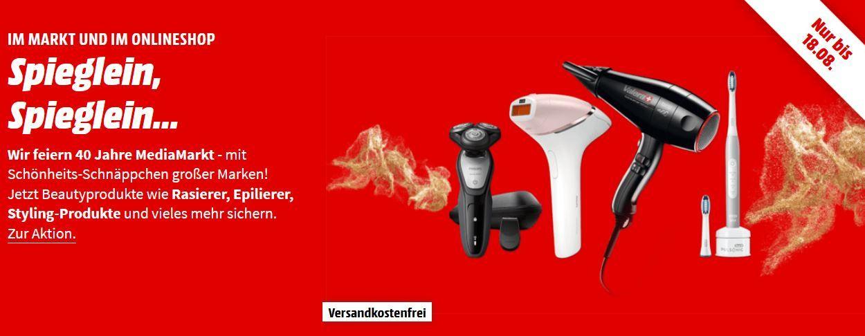 Media Markt letzter Beauty Tag z.B. PHILIPS HX 9901/13 elektrische Schallzahnbürste für 188€ (statt 218€)