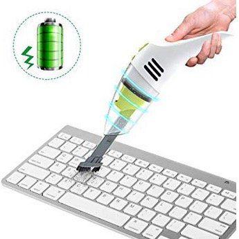 Meco Eleverde Mini Staubsauger zur Reinigung von z.B. Tastaturen für 14,39€ (statt 24€)