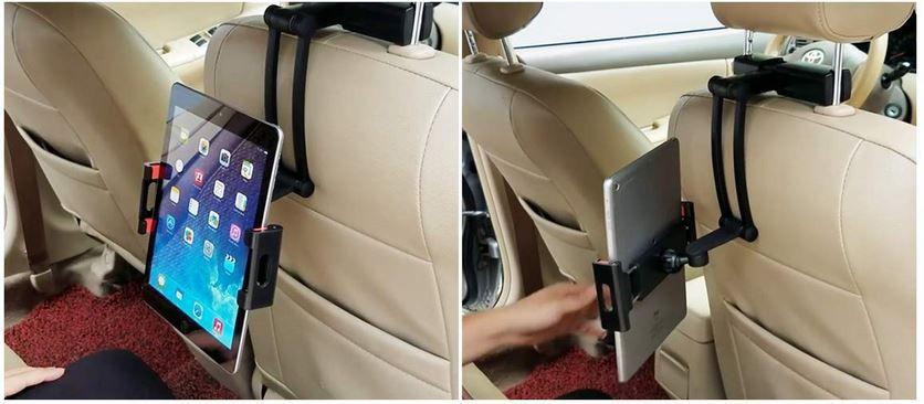 SAWAKE Tablet Kfz Kopfstützen Halterung für iPad & Co. für 11,33€ (statt 16€)    Prime