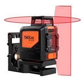 Tacklife SC L03 Kreuzlinien Laser mit Messbereich 30M und Neigungsfunktion für 55,99€ (statt 86€)