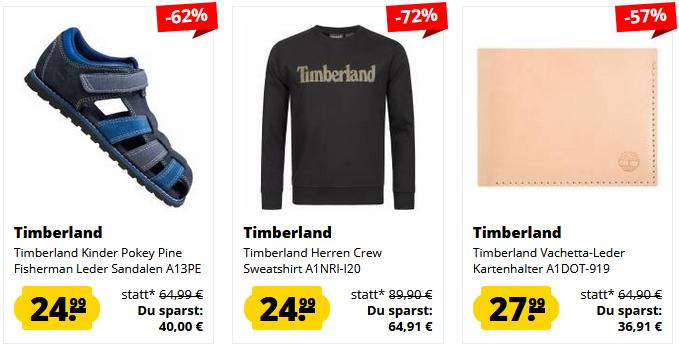 Timberland Sale bei SportSpar z.B. Timberland Hemden ab 32,99€ (statt 38€)