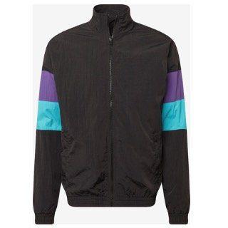 Urban Classics Jacke 3 Tone Crinkle Track Jacket für 12,67€ (statt 50€)