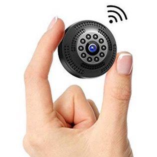 Victure Mini FullHD WLAN Kamera 1080P mit Bewegungserkennung und Nachtsicht für 23,99€ (statt 40€)