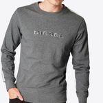 Diesel Sweatshirt 'Umlt-Willy' graumeliert für 24,25€ (statt 43€)