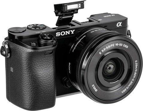 Sony Alpha 6000 + Objektiv 16 50mm + Tasche + SD Karte  für 399€ (statt 568€)