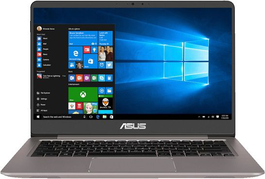 ASUS UX410UF GV167T Notebook mit 14, i5, 8GB RAM, 256 GB SSD für 671,43€ (statt 804€)
