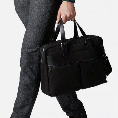 Marc OPolo Herren Business Tasche Theo aus Rindsleder für 85,57€(statt 131€)