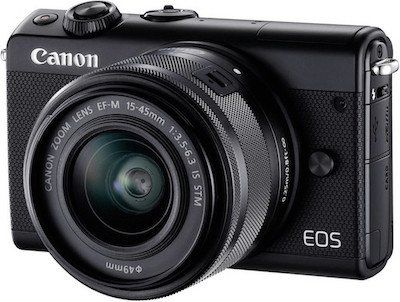 CANON EOS M100 Kit Systemkamera für 249€ (statt 315€)