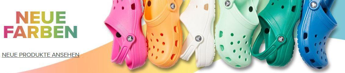 Crocs: Late Night Shopping 30% Rabatt bis Mitternacht + keine Versandkosten