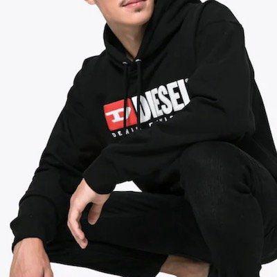 Diesel Herren Hoodie S Division Sweatshirt für 48,55€ (statt 72€)