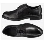 ECCO Herren Leder-Schnürschuh in Schwarz in allen Größen für 44,19€ (statt 81€)