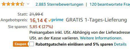 Seneo Qi Dual Charge Pad für 15,33€ (statt 21€)