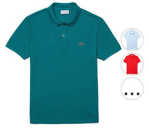 Lacoste Petit Piqué Poloshirt in Slim Fit für 45,90€ (statt 68€)
