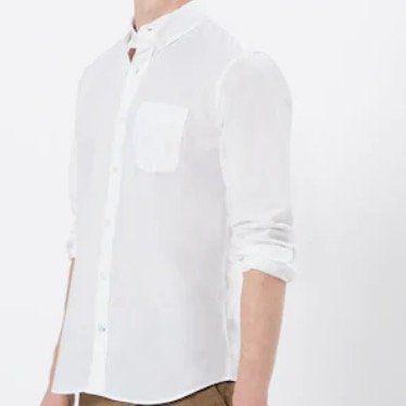 GAP Hemd in Weiß aus Baumwolle für 22€ (statt vorher 40€)