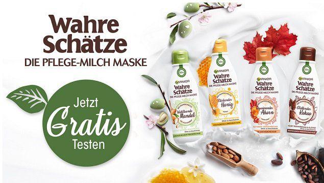 Kostenlos: Garnier Wahre Schätze Pflege Milch Maske (statt 4€)