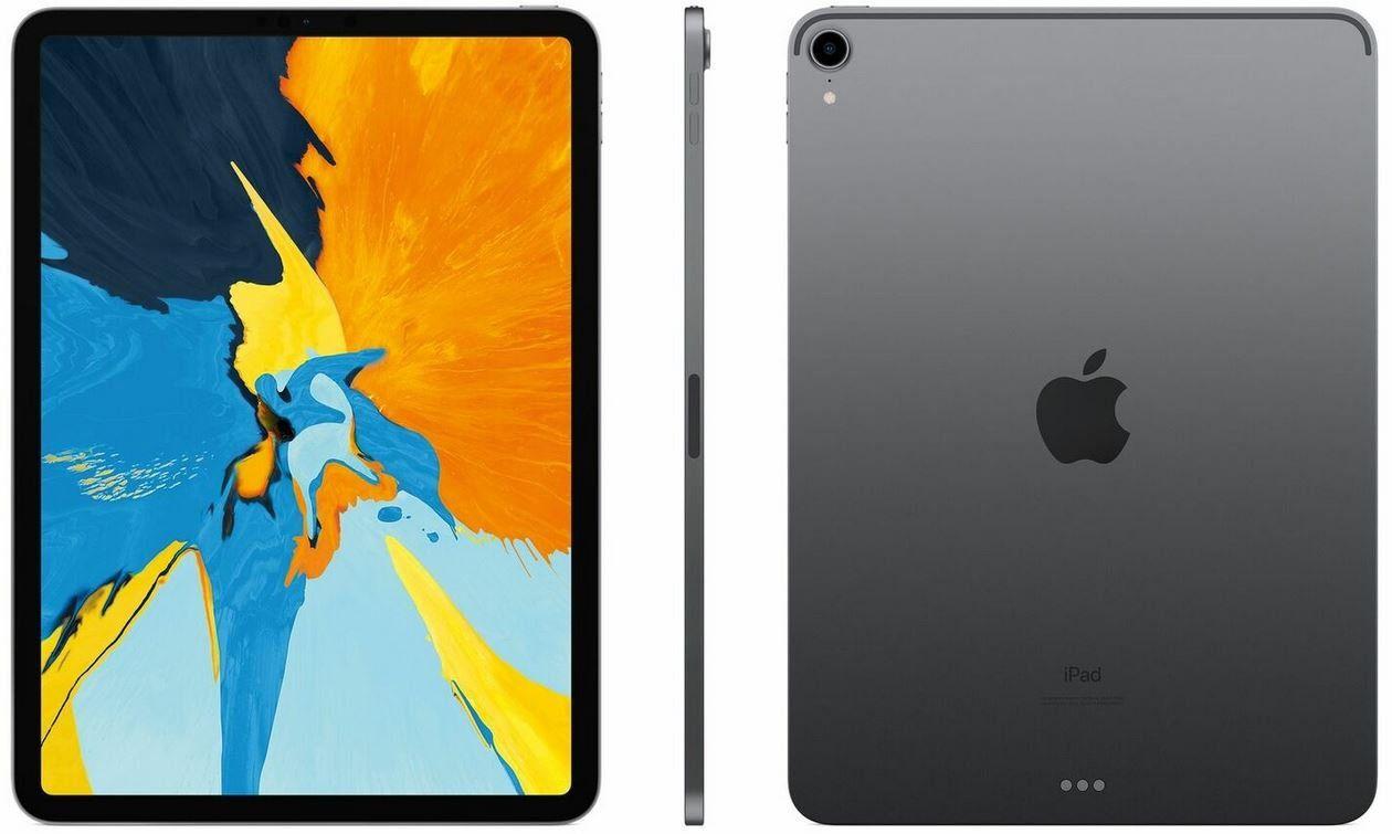 Ausverkauft! Apple iPad  Pro 3.Gen. (2018) 256GB 11 Zoll WLAN Spacegrau für 699€ (statt neu 910€)   gebrauchte Ware