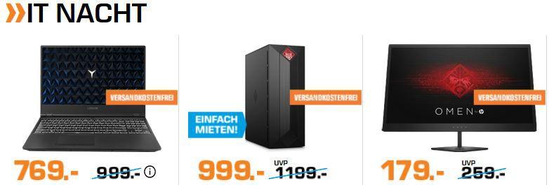 Saturn IT Nacht   günstige PCs & Zubehör