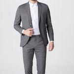 Jack & Jones Anzug 'Jprkingsburg' in Grau für 67,05€
