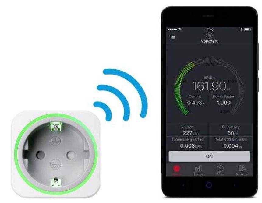VOLTCRAFT SEM6000 Bluetooth App Energiekosten Messgerät für 22€ (statt 42€)