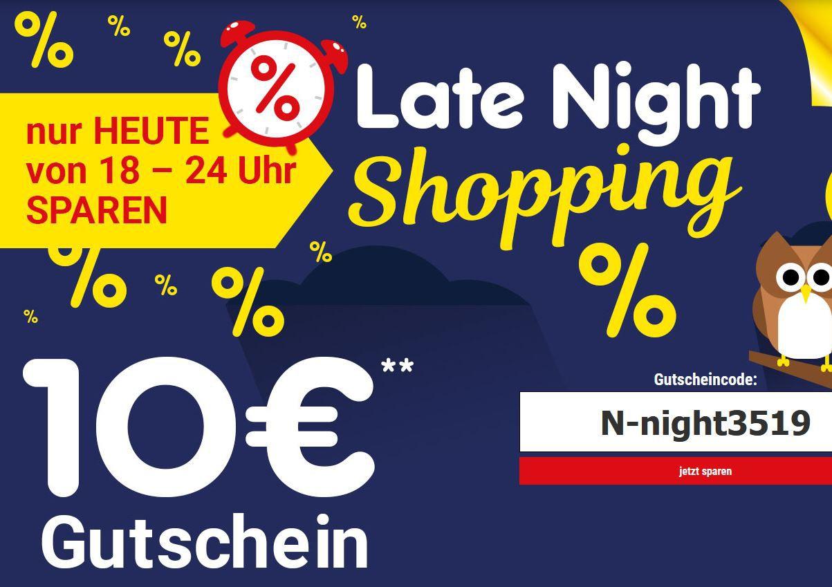 Netto Late Night Shopping + 10€ Rabatt ab 69,99€   z.B. Scheppach HS81S Tischkreissäge für 79,99€ (statt 100€)