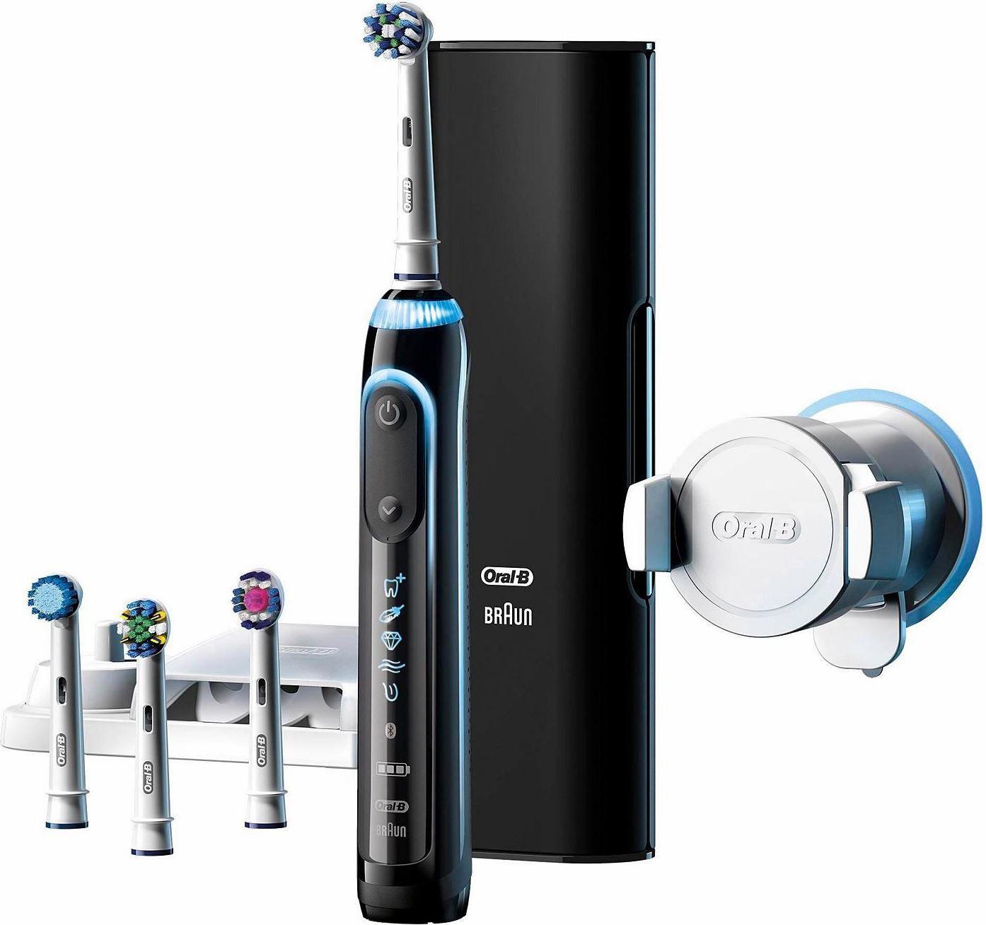Braun Oral B Genius 9000 Black Edition eZahnbürste für 79,90€ (statt 103€)