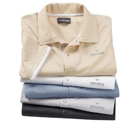 Ausverkauft! 5er Pack Westberg Funktions Poloshirts für 26,25€ (statt 35€)