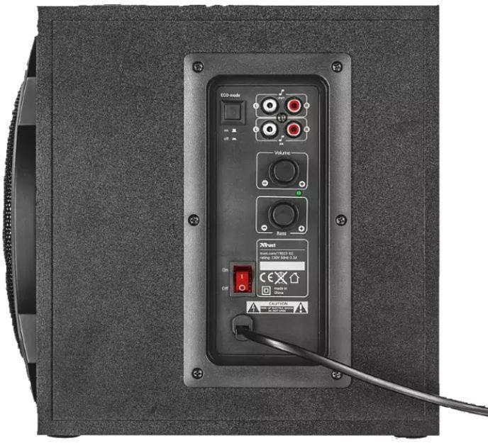 TRUST Trust GXT 628 2.1 Gaming Lautsprecher mit LED Beleuchtung für 55,99€ (statt 65€)