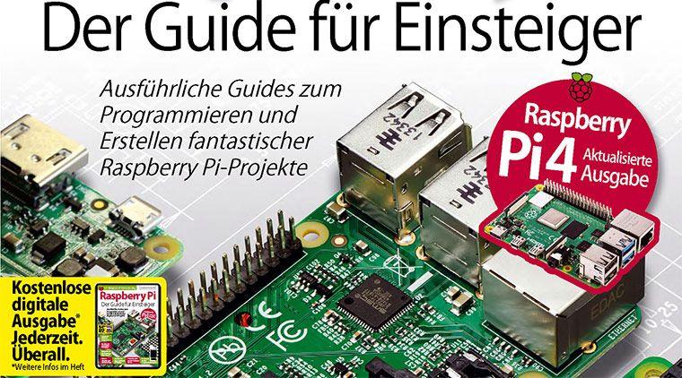 Kostenlos: Raspberry pi Expert Guide   Der Guide für Einsteiger (.pdf)